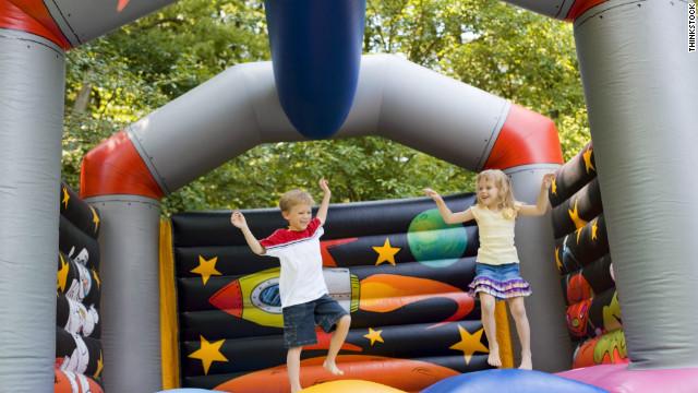 'Bounce house' injuries skyrocketing