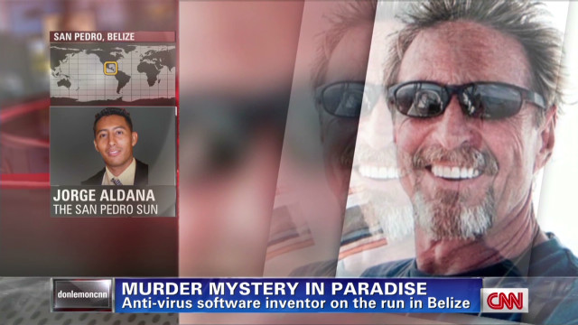 Murder mystery in paradise
