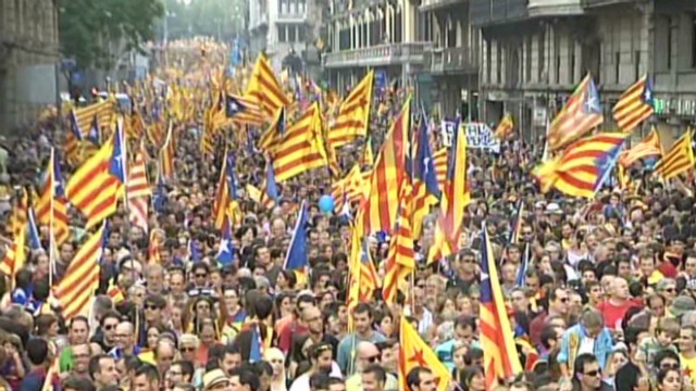 Independence parties score in Catalonia