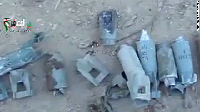 Syrian cluster bomb kills children