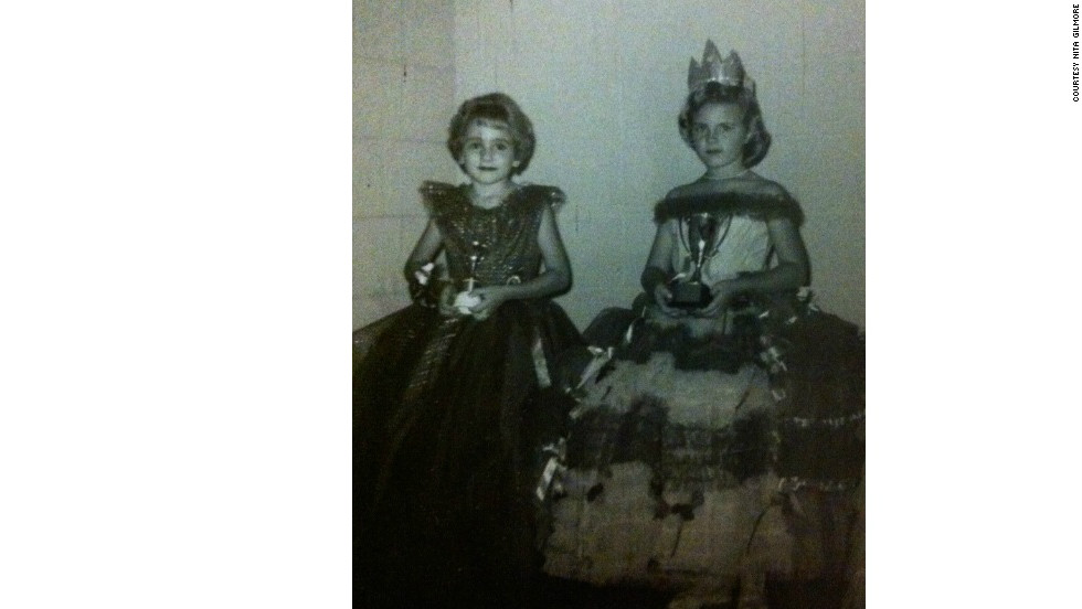 Nita Gilmore and Sherry Downs have been friends since childhood. They competed in a local pageant in 1962.