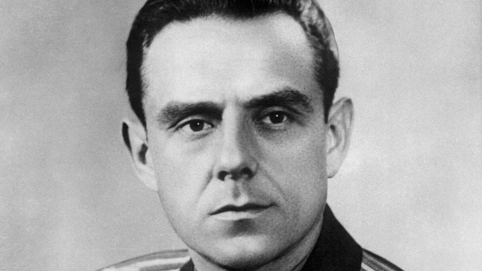 Soviet cosmonaut Vladimir Komarov died during his second flight when the Soyuz 1 spacecraft crashed during its return to Earth on April 23, 1967. He was the first human to die during a space mission.