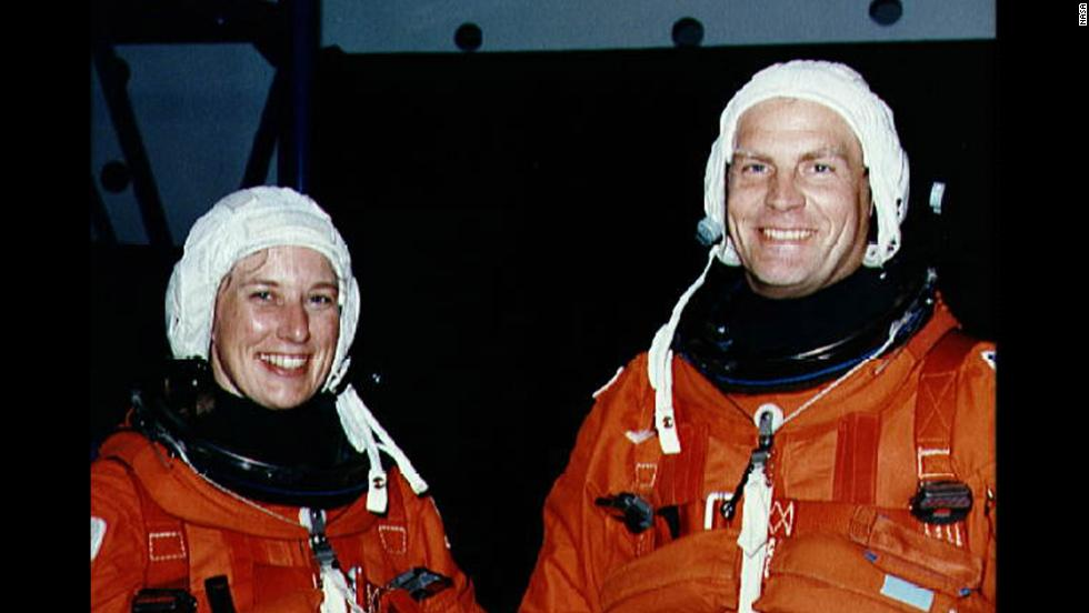 Jan Davis and Mark Lee were the first couple to go into space together when the husband and wife were astronauts on the space shuttle Endeavour in 1992.