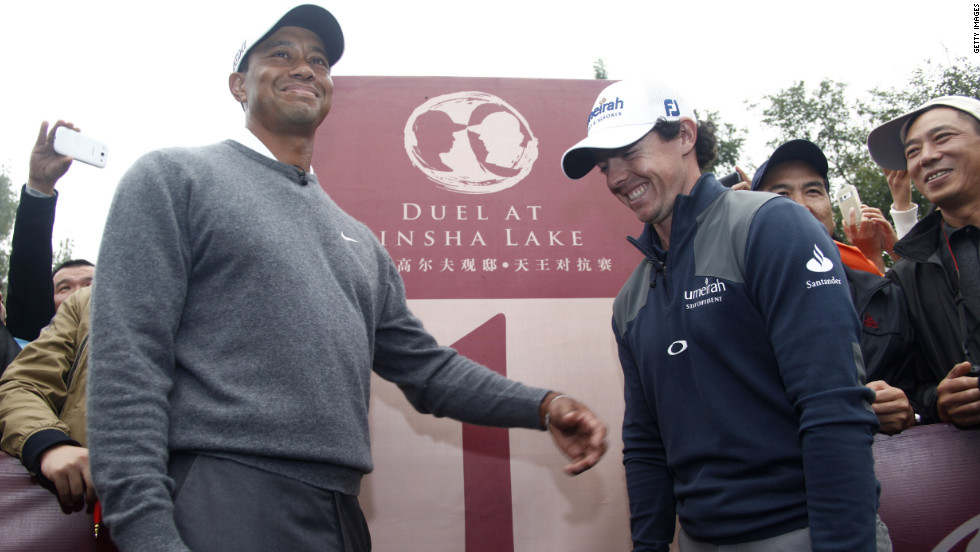 McIlroy's friendship with Tiger Woods blossomed during the 2012 season. The two even took each other on at an exhibition tournament in China in front of a huge crowd. McIlroy won by one shot. Both players reportedly shared $3 million for taking part.
