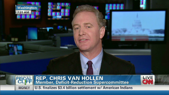 Van Hollen: Obama budget is 'balanced'
