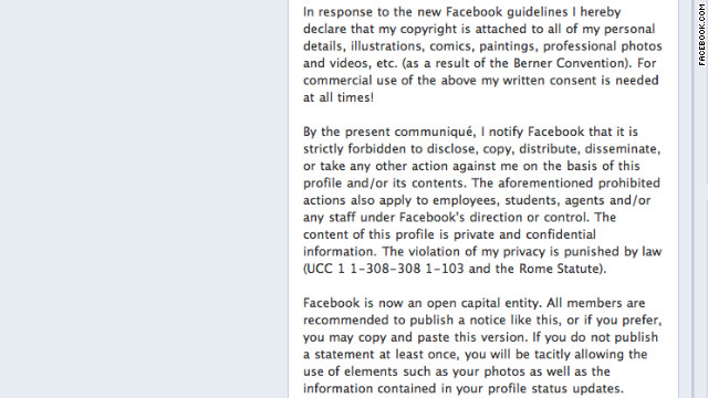 You've probably seen privacy hoaxes like this one on Facebook.