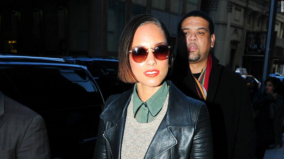 """Girl on Fire"" songstress Alicia Keys steps out in New York City on November 26."