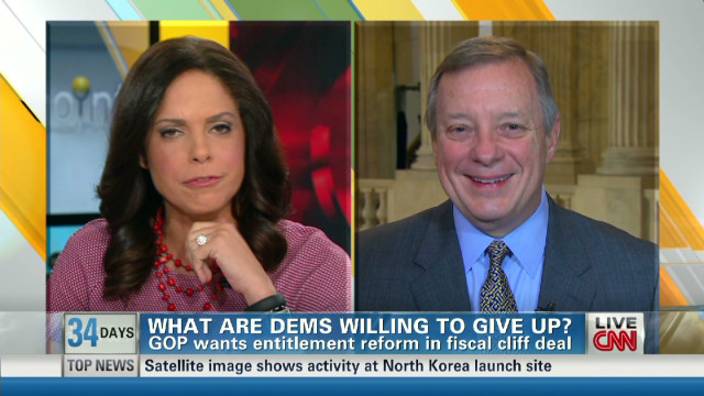 Sen. Durbin: Entitlements off table
