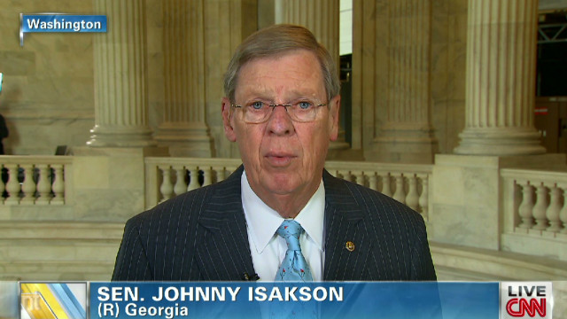 Sen. Isakson: Rice 'put on tip of spear'