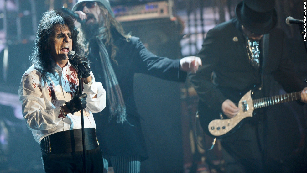 "Singer Alice Cooper always believed in Christ but wouldn't have considered himself a Christian before giving up his rock-star lifestyle, he said in <a href=""http://www.huffingtonpost.com/christina-patterson/interview-with-alice-cooper_b_1973528.html"" target=""_blank"">an interview with the Huffington Post.</a> He said he believes every word of the Bible literally."