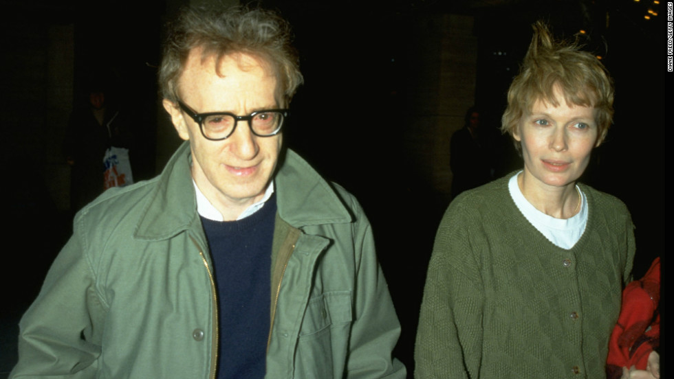"""Allen's romantic relationship with Farrow's adopted daughter, Soon-Yi Farrow Previn, did not help their custody battle over their three kids go smoothly. In awarding Farrow custody in 1993, <a href=""""http://www.nytimes.com/books/97/02/23/reviews/farrow-verdict.html"""" target=""""_blank"""">the judge characterized Allen as a """"self-absorbed, untrustworthy and insensitive"""" dad.</a> Allen later married Previn and the couple adopted two children."""