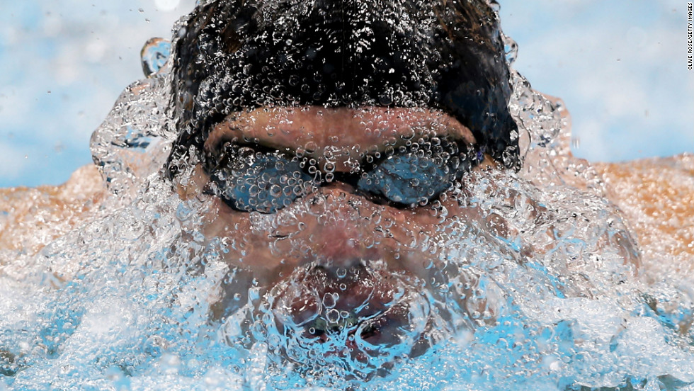Maksim Veraska of Ukraine competes in the men's 200m IM - SM12 heat 2 on Day 5 of the London 2012 Paralympic Games on September 3 in London.