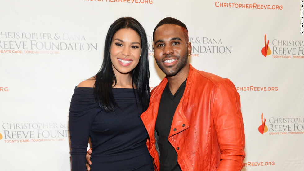 Jordin Sparks and Jason Derulo attend an event in New York City.