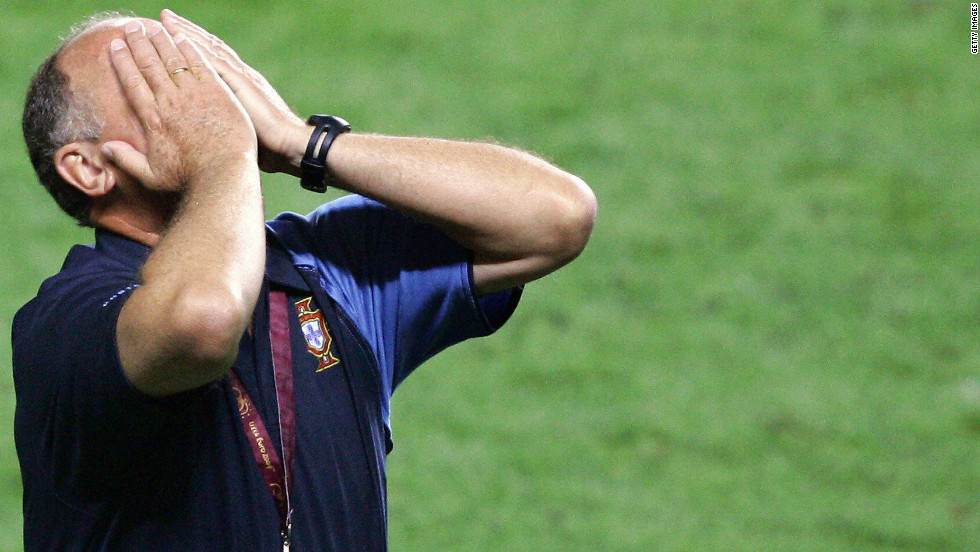 """Big Phil"" also enjoyed a degree of success in charge of Portugal. When the Iberians hosted Euro 2004 all appeared to be going to plan as Portugal reached the final. But Scolari and his team were beaten 1-0 by underdogs Greece in the Lisbon final."