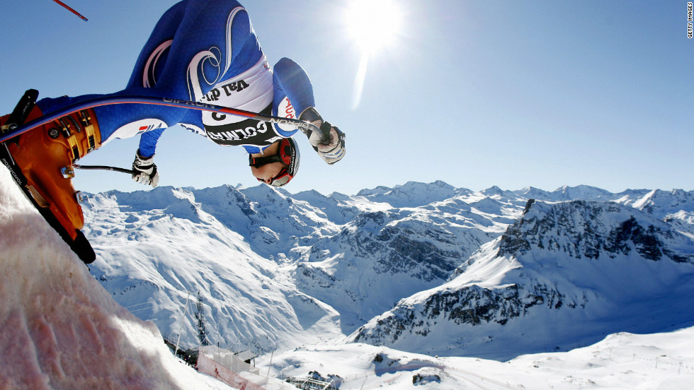 Val d'Isere's altitude of 1,850 meters means it often enjoys snow most of the year round. It has hosted over 130 competitions, making it one of Europe's most popular resorts.