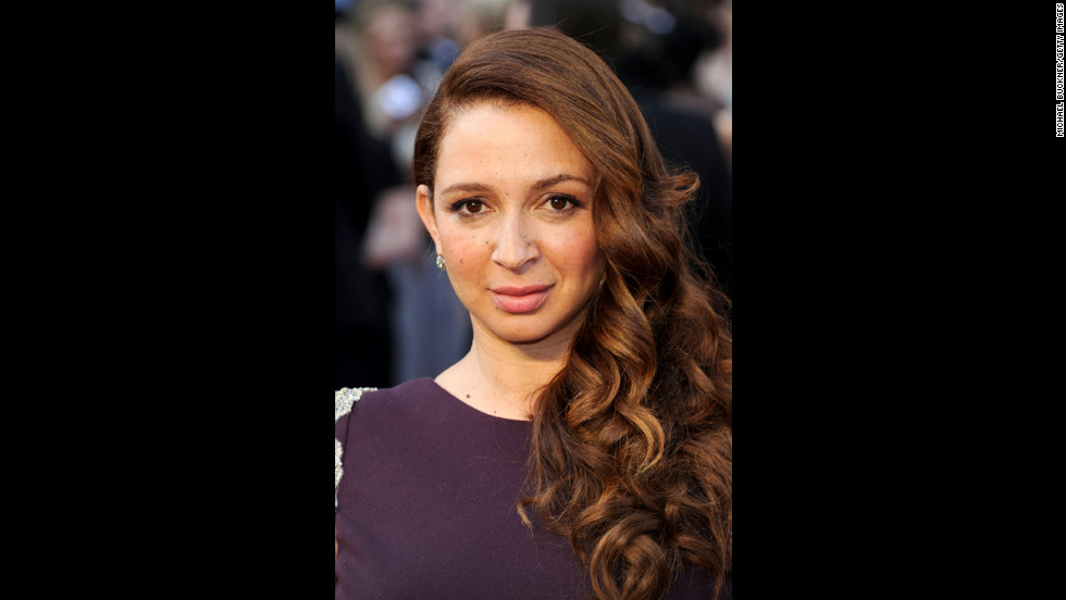 "Funny lady Maya Rudolph, of ""Up All Night,"" joined Club 40 this year."