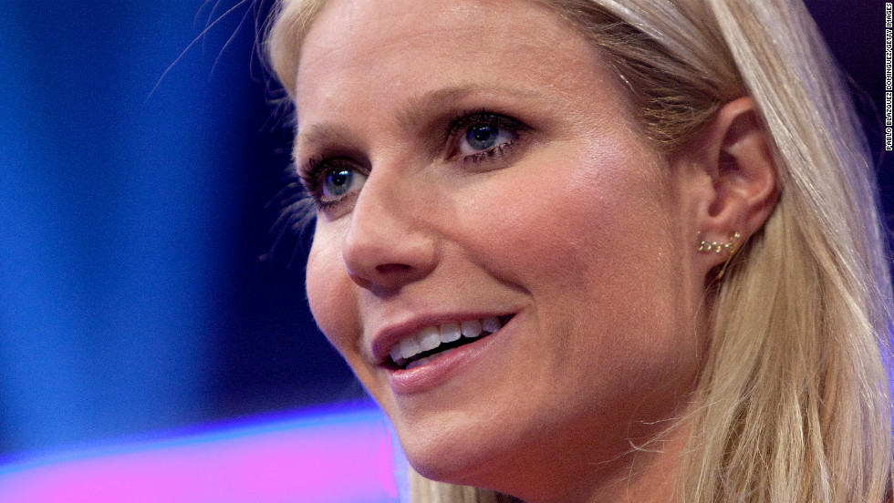 Actress Gwyneth Paltrow, whose goop.com website offers tips on how to live large, celebrated her 40th birthday in September.