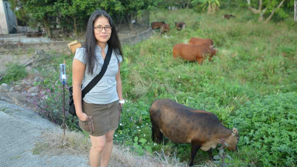 Ho Loi of the Green Lantau Association is one of the activists who helps protect the herd.  She says the group works with the government to control herd size and provide vet services to sick or injured animals. Recently, the government agreed that they could stay but the herd could not grow in size.