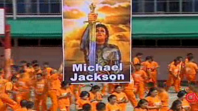 Inmates pay tribute to Jackson