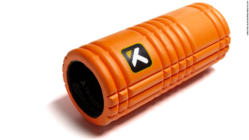 "Health pros swear by foam rollers for relieving post-workout tension. These aids, like The Grid Revolutionary Foam Roller ($30, <a href=""http://www.amazon.com"" target=""_blank"">amazon.com</a>) from Trigger Point Performance, are designed to be rolled along your back and legs -- and anyplace else that's stiff and sore. When combined with your body weight, the uneven foam surface acts like a massage to loosen muscles and work out knots.For more healthy gift ideas, see the full gallery <a href=""http://www.health.com/health/gallery/0,,20650381,00.html"" target=""_blank"">on Health.com</a>."