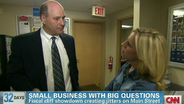 Fiscal cliff worrying small businesses