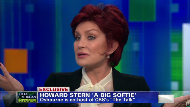 Osbourne: Howard Stern a 'big softie'