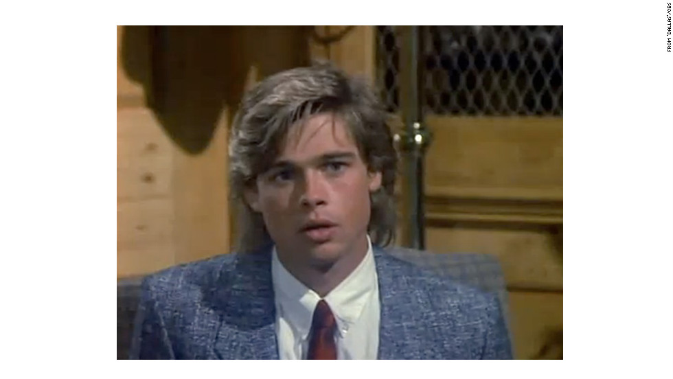 "TV fans might remember a youthful Brad Pitt launching his career with appearances on ""Another World,"" ""21 Jump Street"" and ""Dallas"" in his early 20s. Here, he's seen as a recurring character named Randy on ""Dallas,"" a role he held from 1987 to 1988."