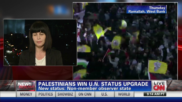 Israel responds to U.N. Palestinian vote