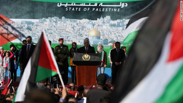 Palestinian Authority President Mahmoud Abbas calls for an end to Palestinian divisions