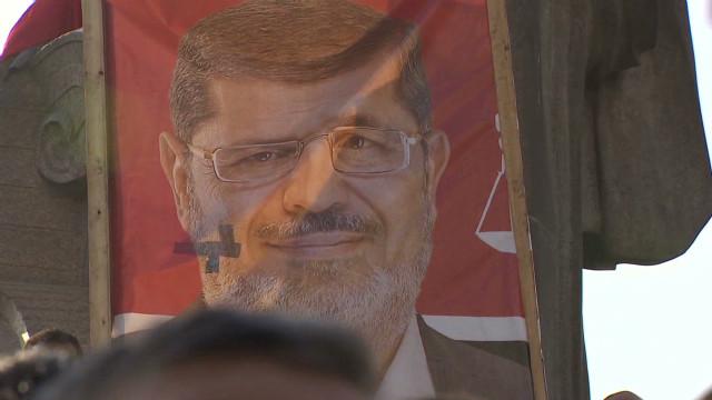 Massive pro-Morsy rally in Egypt
