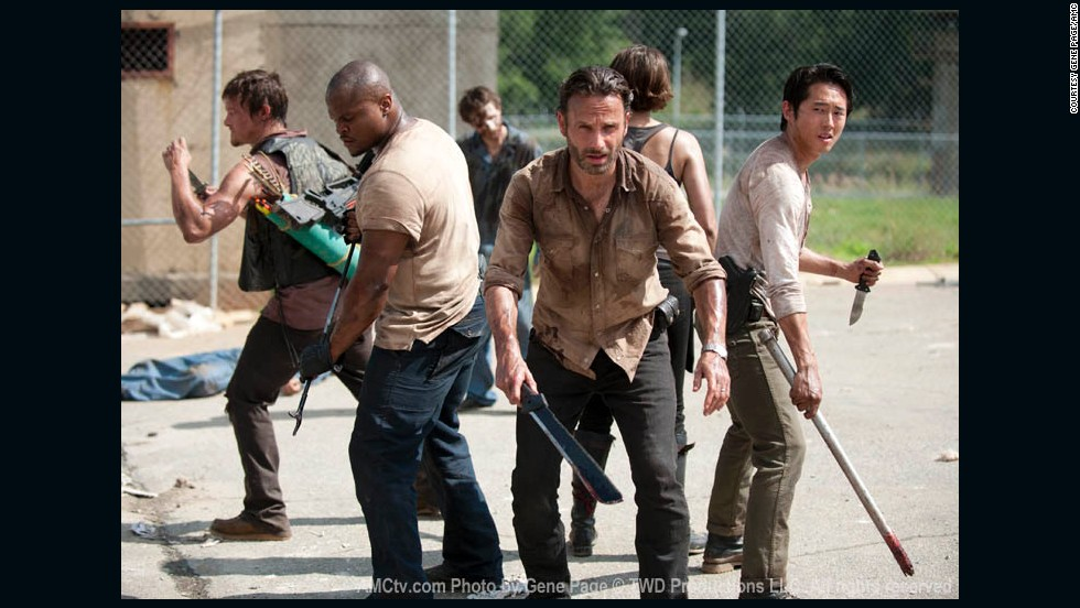 "AMC's ""The Walking Dead"" is in its third season. Starring Andrew Lincoln, Norman Reedus and Laurie Holden, the zombie drama is one of the <a href=""http://www.cnn.com/2012/10/23/showbiz/tv/walking-dead-broadcast-tv-ew/index.html"" target=""_blank"">best-rated shows</a> on TV."