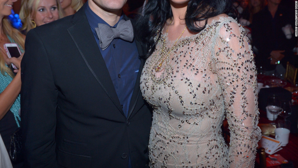 Katy Perry, pictured with Matthew Morrison, is honored at 2012 Trevor Live.