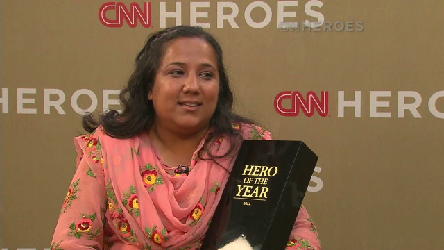 Pushpa Basnet:  'It's a big honor'