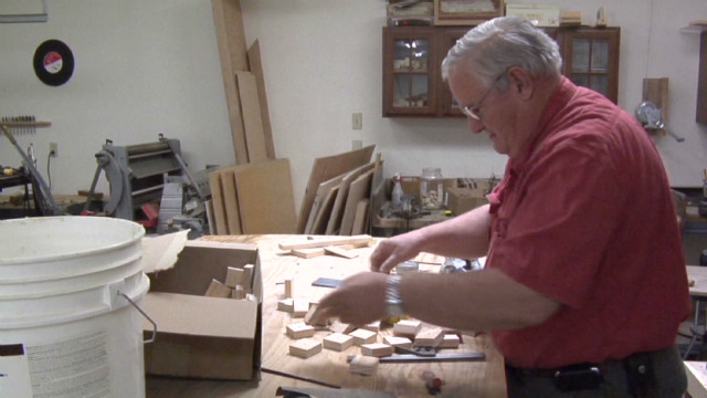 Veteran opens Santa's workshop