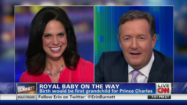 Piers Morgan on royal baby mania