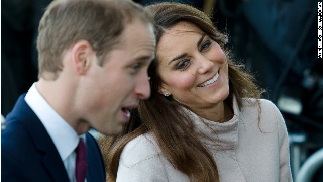 Prince William and Catherine, Duchess of Cambridge, visit a hospital in Cambridgeshire, England, on November 28.
