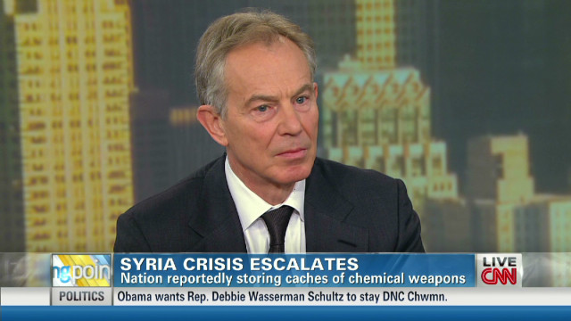 Blair: Assad 'indifferent' to civilians