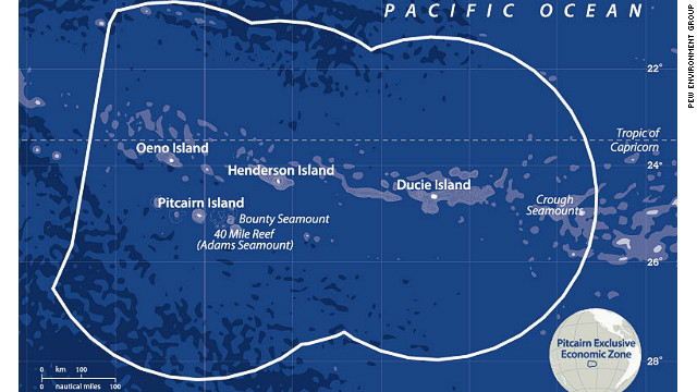 Pitcairn Exclusive Economic Zone