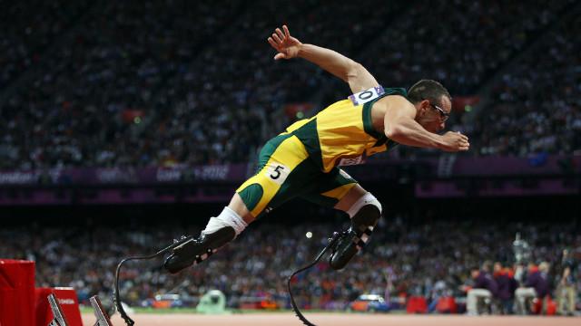 Paralympian superstar Oscar Pistorius