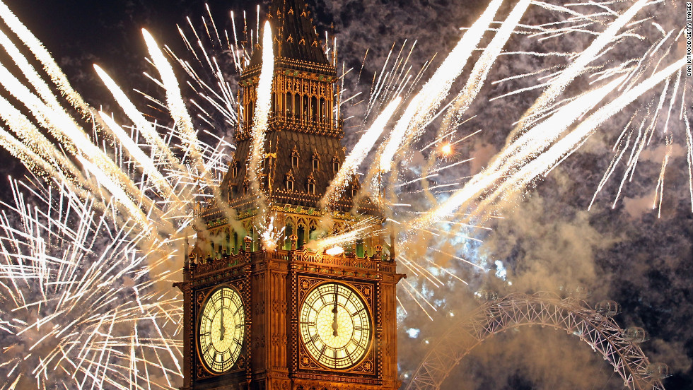 "<strong>January 1:</strong> Fireworks light up the London skyline just after Big Ben struck midnight, kicking off 2012. Photographers worldwide captured deadly conflicts, devastating storms, presidential politics and other memorable moments throughout the year. Click through the gallery to see 2012 unfold from beginning to end.  Then check out <a href=""http://www.cnn.com/2012/11/29/worldsport/gallery/2012-sports-moments/index.html"" target=""_blank"">75 amazing sports moments you missed this year.</a>"