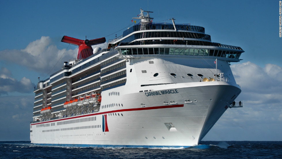 Passengers aboard the Carnival Miracle, sailing from New York to Bahamas during Christmas week, can leave the grocery shopping, cooking and Christmas decorating to the ship's crew.