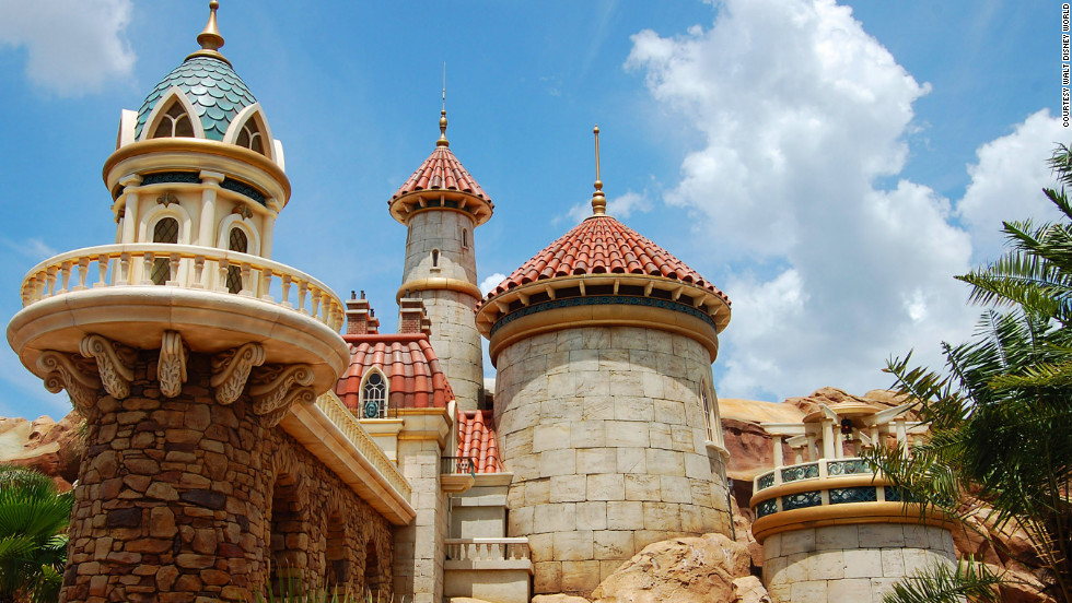 Inside Prince Eric's castle, the story of Ariel is captured with the attraction Under the Sea ~ Journey of The Little Mermaid.