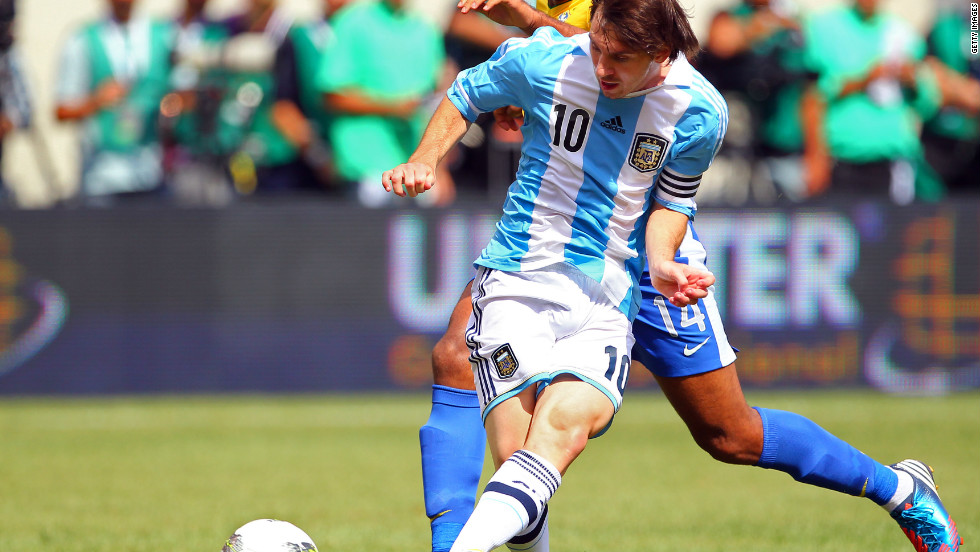 Messi also had a standout year for the Argentina national team. He scored 12 goals for his country in 2012, including a hat-trick against archrivals Brazil in June.