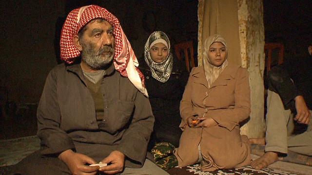 Syrian family lives underground
