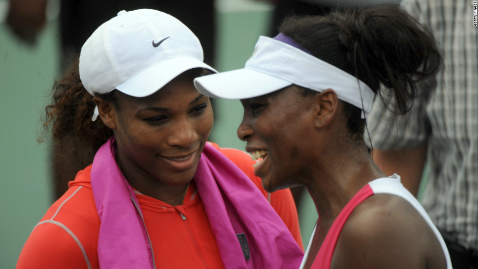 "Sometimes you get two great athletes, but they are too close to be proper rivals -- such as tennis star Serena Williams, left, and her sister Venus. ""The great things about sport is the sense of competition, the uncertainty of the outcome, the fairness of the playing field,"" Tu says. ""You might be able to suspend enough of your fraternal or sisterly love to play a decent game of tennis but it won't reach the heights of the rivalries that make the sport."""