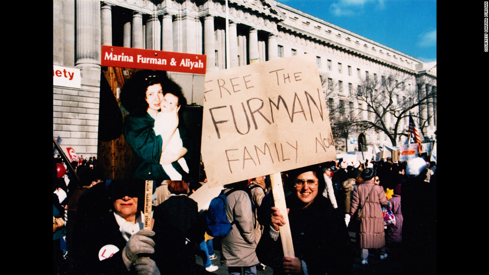 As the Furmans were being interrogated in prison, some 250,000 people gathered for a demonstration in Washington to coincide with Soviet leader Mikhail Gorbachev's first visit to the White House. The crowd called for the freedom of Soviet Jews, including the Furmans.