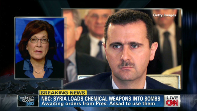Report: Syria readying chemical weapons