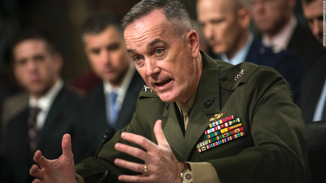 America's top military officer arrives in Afghanistan as US weighs strategy shift