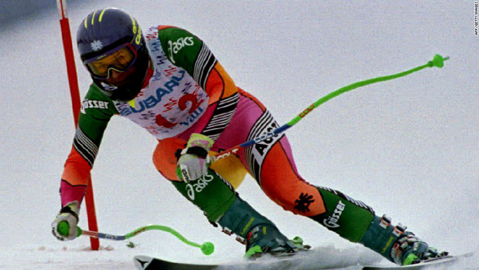 Austrian superstar Ulrike Maier was a two-time world champion but her death in a World Cup downhill race in 1994 sent shockwaves through the sport and led to a number of safety changes.