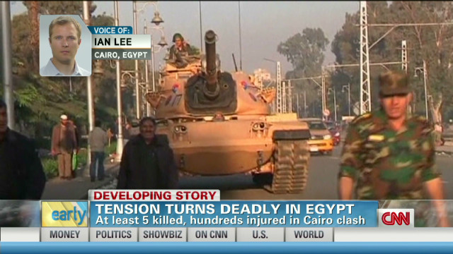 Tensions in Egypt turn deadly